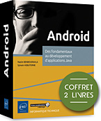 livre android - nougat - androïd - sdk android - jse - jee - tablette - smartphone - applications - appli - google - java - fragment - eclipse - appwidget - widget - mobilité - in-app - lvl - nfc - kitkat - volley - android studio - LNRIEI7AND
