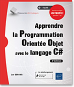 livre poo - c sharp - c # - encapsulation - héritage - polymorphisme - abstraction - multithread - Windows Forms - uml - VS 2015 express - .net - dot net - net