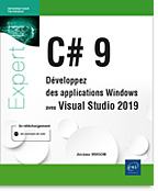 C# 9 - Développez des applications Windows avec Visual Studio 2019