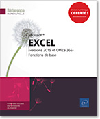 Excel (versions 2019 et Office 365) - Fonctions de base