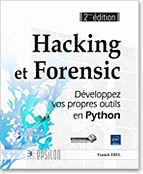 Hacking et Forensic, scapy, socket, PyDbg, Fuzzing, Sulley, PIL, capchat, stéganographie, cryptographie