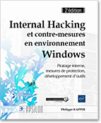 Internal Hacking et contre-mesures en environnement Windows, livre sécurité, hacker, piratage, protection, antivirus, anti virus, LNEP2INTH