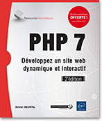PHP 7, livre php, développement, open source, web, php 7.2, php7.2, php 72