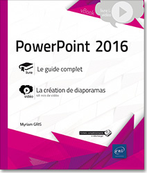 PowerPoint 2016 - Complément vidéo : La création de diaporamas, Microsoft , PréAO , diaporama , diapositive , album photos , organigramme , diagramme , application ,  Office 2016 , Office 16 , PowerPoint2016 , Powerpoint16 , PP , livre numérique , livres numériques , e,book , ebook , livre électronique , livres électroniques , Powerpoint 16 , video , videos , vidéos , tuto , tutos , tutorial , tutoriel , tutoriels , LNVKBRB16POW