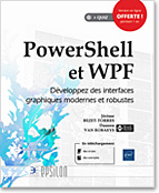 PowerShell - WPF - .NET - C# - XAML