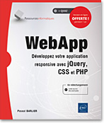 WebApp, application web, JS, CSS, PHP, jQuery, multiplateforme, LNRIWAPP