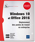 Windows 10 et Office 2016, microsoft, wds, wsus, sccm, office 2016, mdt, oct, wadk, deployment , LNRI10WINDE