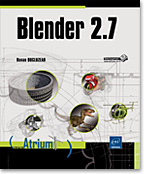 Blender 2.7, 3D, modélisation, rendu, maillage, mesh, matériaux, bevel object, Freestyle, modificateur, texture, animation