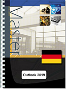 Outlook (Versionen 2019 und Office 365) - (D/D) : Texte en allemand sur la version allemande du logiciel