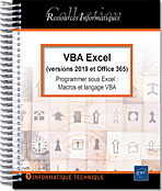 VBA Excel (versions 2019 et Office 365), microsoft,  macro-commande, macro commande, office, api, excel vba, excel 2016, office 2019, office 365