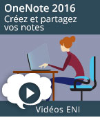 OneNote 2016, Office, Windows, Word2016, Excel2016, Outlook2016, Office 2016, Office2016, Microsoft, perfectionnement, videos, vidéos, vidéo, tuto, tutos, tutorial, tutoriel, tutoriels