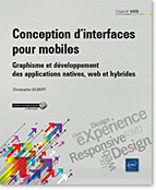 Conception d'interfaces pour mobiles, RWD, Responsive web Design, UX Design, User eXperience, ergonomie