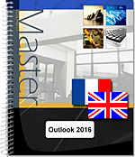 Outlook 2016, Microsoft, Messagerie, Agenda, Tâches, Calendrier, Contact, Carnet d'adresses, e-mail, message, anti-spam, réunion, mail, Outlook16