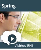 Spring, video, videos, vid�os, tuto, tutos, tutorial, tutoriel, tutoriels, Spring, Framework, Java, AOP, programmation orient�e objet, injection de d�pendances, inversion de contr�le, conteneur, Spring Security, service Web, persistance